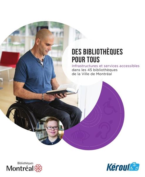 Personne en fauteuil roulant lisant un livre