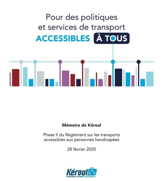 Mémoire OTC transport accessible
