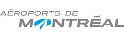 Logo Aéroports de Montréal.