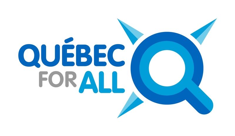 Logo Québec for all