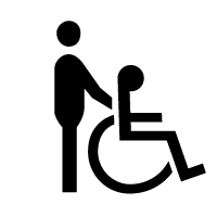 Pictogramme partiellement accessible.