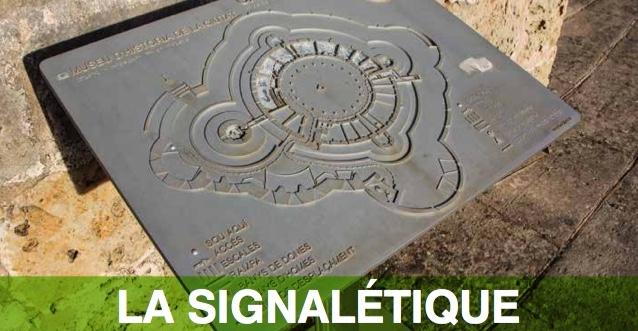 Bannière signalétique